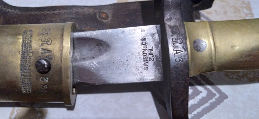 baïonnette Mauser 1871 20210210