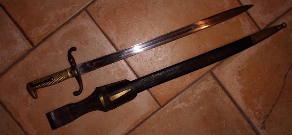 baïonnette Mauser 1871 20210211