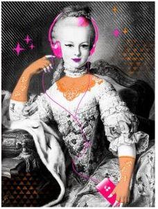 Apres Marie Antoinette à la rose ,voici.... Ma10