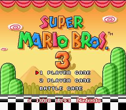 [Jeux Rétrolympiques 2014] Round 8 : Super Mario Bros 3 110