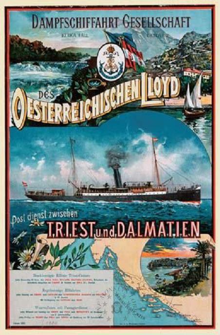 'Graf Wurmbrand' - Österreichishe Lloyd  -  1895 11a_na10