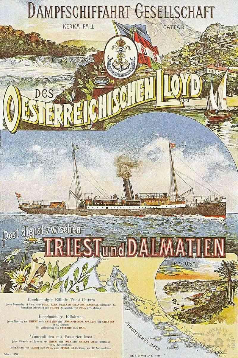 'Graf Wurmbrand' - Österreichishe Lloyd  -  1895 13_nav10