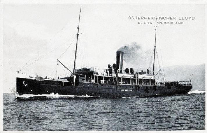 'Graf Wurmbrand' - Österreichishe Lloyd  -  1895 15_nav10