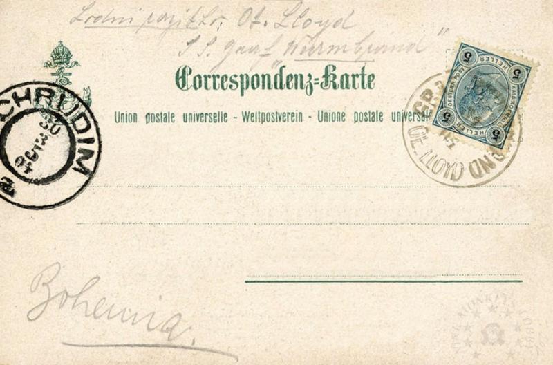 'Graf Wurmbrand' - Österreichishe Lloyd  -  1895 16_car10