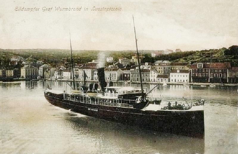 'Graf Wurmbrand' - Österreichishe Lloyd  -  1895 18_los10