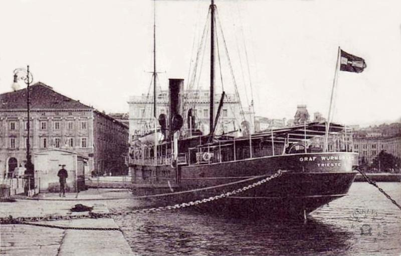 'Graf Wurmbrand' - Österreichishe Lloyd  -  1895 22_nav10