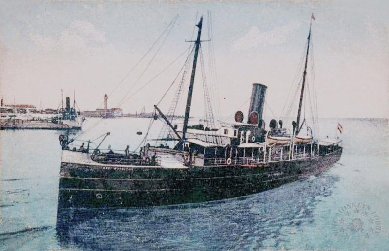 'Graf Wurmbrand' - Österreichishe Lloyd  -  1895 24_nav10