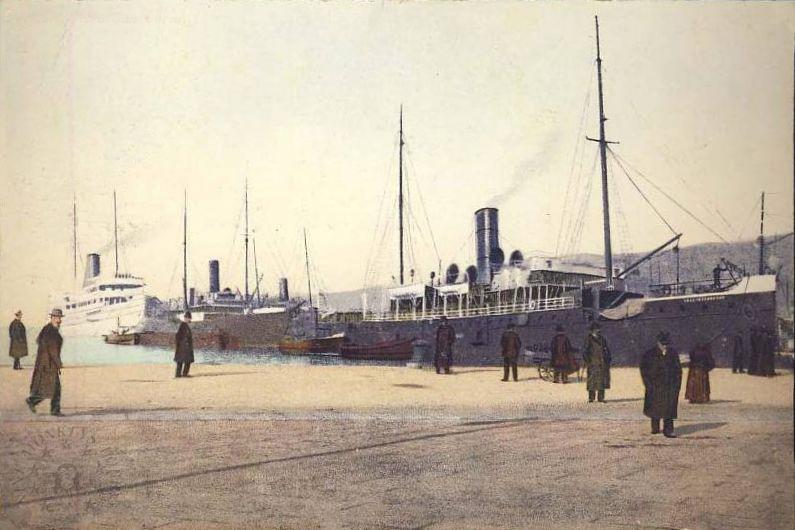 'Graf Wurmbrand' - Österreichishe Lloyd  -  1895 25_mol10