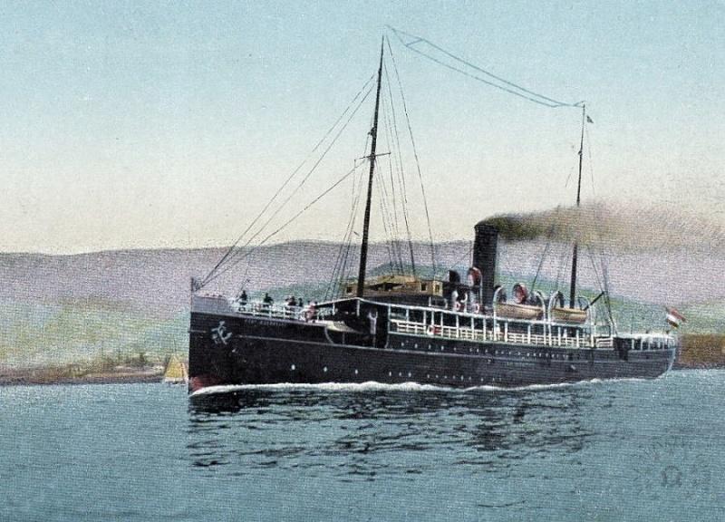 'Graf Wurmbrand' - Österreichishe Lloyd  -  1895 3_graf10