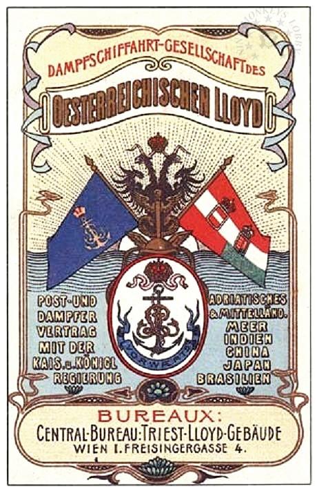 'Graf Wurmbrand' - Österreichishe Lloyd  -  1895 4_lloy12
