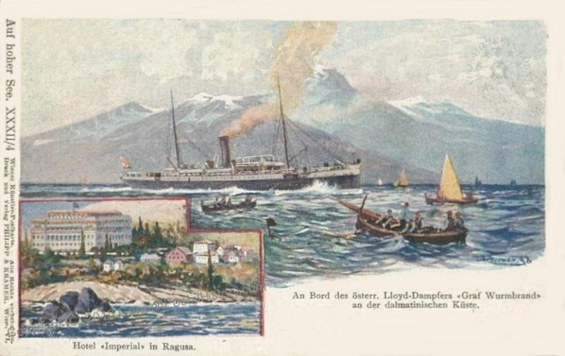 'Graf Wurmbrand' - Österreichishe Lloyd  -  1895 7_imag12