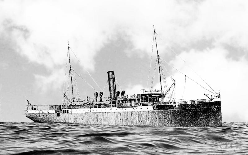 'Graf Wurmbrand' - Österreichishe Lloyd  -  1895 Curios10