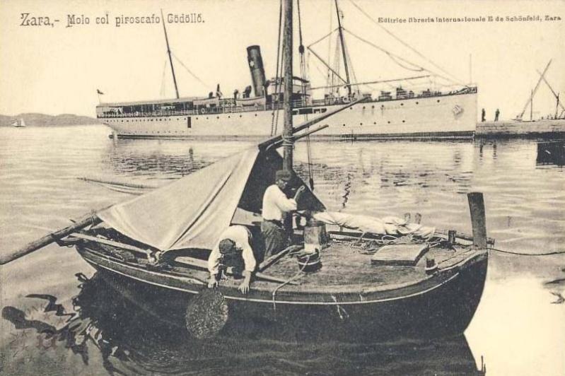 'Graf Wurmbrand' - Österreichishe Lloyd  -  1895 Godoll11