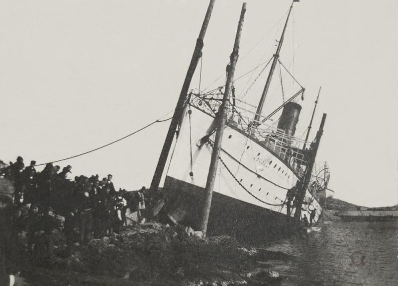 'Graf Wurmbrand' - Österreichishe Lloyd  -  1895 Godoll12