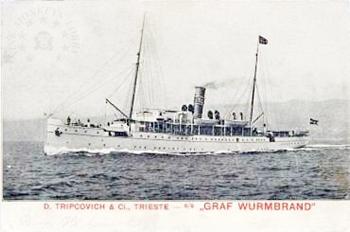 'Graf Wurmbrand' - Österreichishe Lloyd  -  1895 Minima10