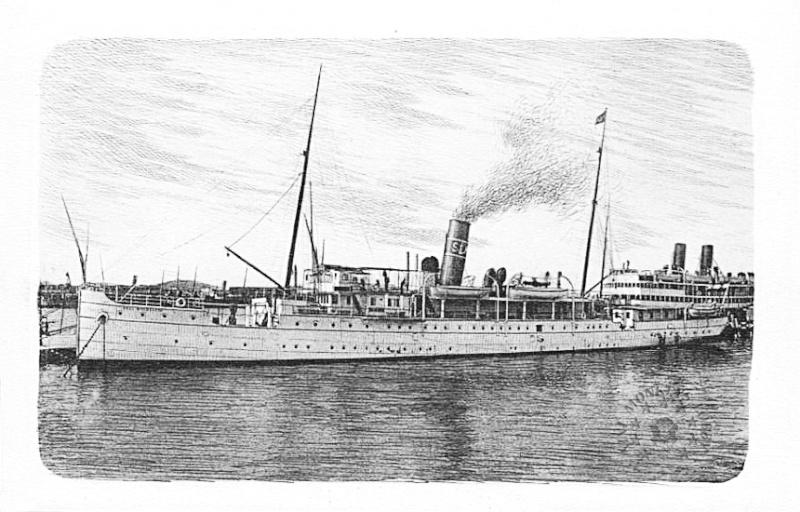 'Graf Wurmbrand' - Österreichishe Lloyd  -  1895 Nave_g10