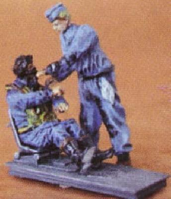 Figurines de pilote allemand 1:48 Cmkf4810