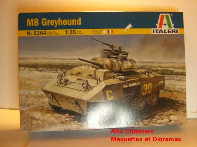 M 8 GREYHOUND au 1/35 de chez ITALERI M8-110