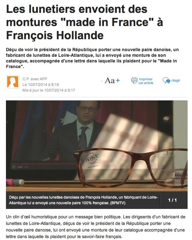 Achetez Français... Le président donne l'exemple. Clicha30