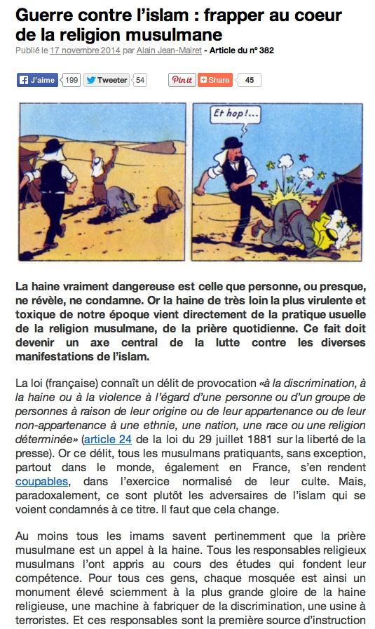 L'islam modéré. Guerre10
