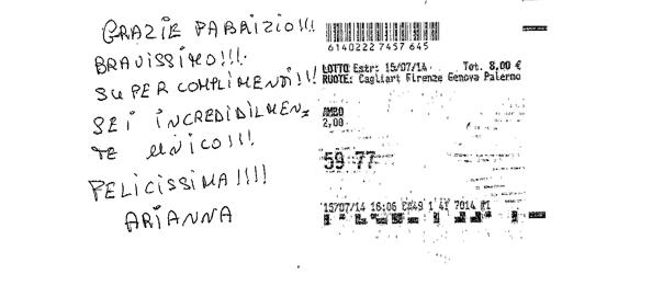 FABRIZIO 10-11 settembre 2014 (332-333). Dalla Sezione Aurea all'ambo secco. Il ritorno del 90 (probabilmente a colpo). 10403210