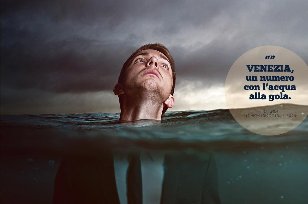 FABRIZIO (340) 29-30 SETTEMBRE 2014. Venezia, un numero con l'acqua alla gola. #SestoSenso 34010