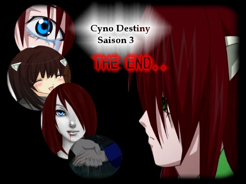 """Logo de Cyno destiny saison 3 - 7e """"THE END"""" Eva_st17"""