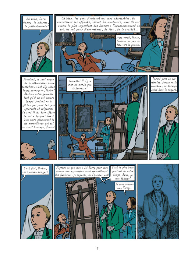 Dorian Gray en bande-dessinée !  97827511