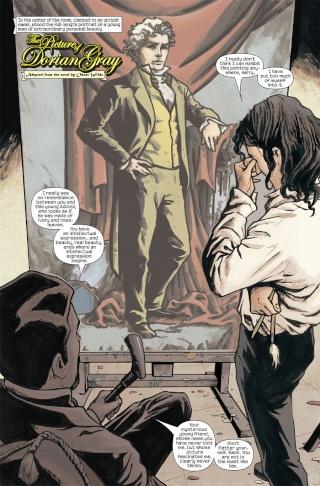 Dorian Gray en bande-dessinée !  Marilp10