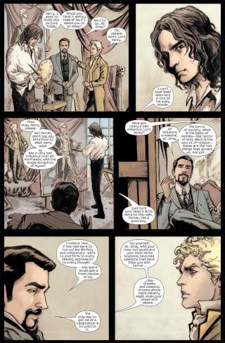 Dorian Gray en bande-dessinée !  Marilp11
