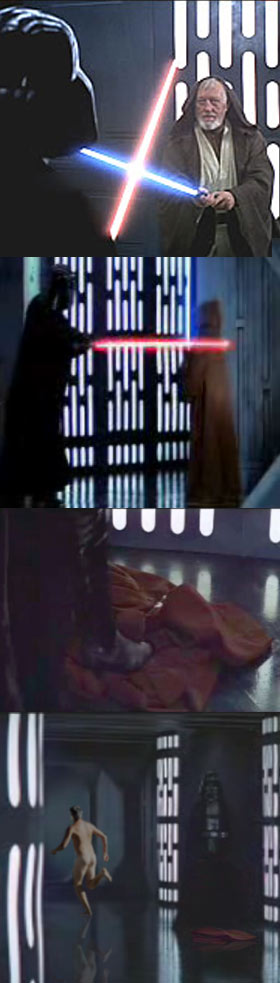"""Les coïncidence entre les deux trilogie """"Star Wars""""   Coward10"""