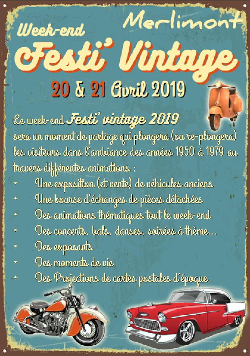 Manifestation exposition véhicules vintage a MERLIMONT  2019fe10