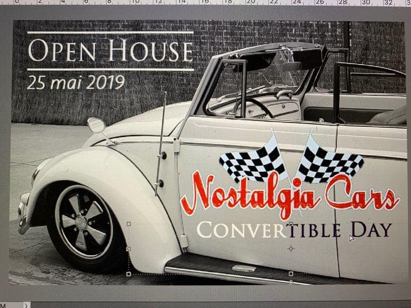OPEN HOUSE 6 le 25 mai Nostalgia cars  60676910