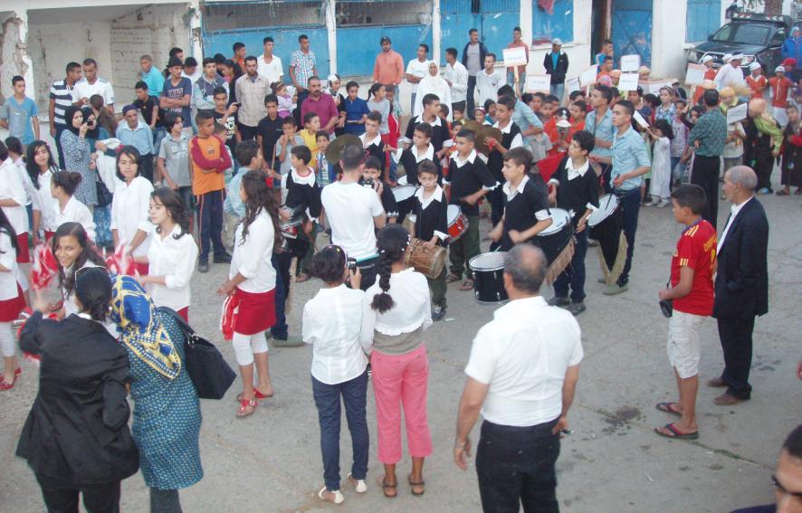 أطفال حد الغربية يحتفلون بعيدهم الثالث -المهرجان المحلي للطفولة الدورة الثالثة- 1110