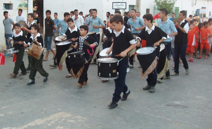 أطفال حد الغربية يحتفلون بعيدهم الثالث -المهرجان المحلي للطفولة الدورة الثالثة- 810