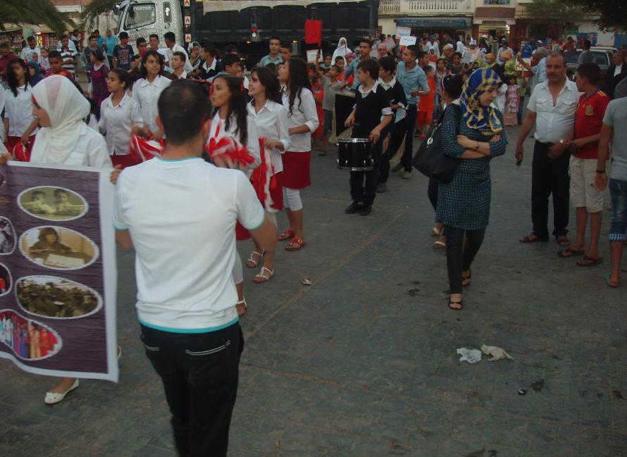 أطفال حد الغربية يحتفلون بعيدهم الثالث -المهرجان المحلي للطفولة الدورة الثالثة- 910