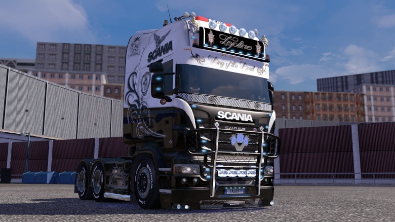 SKIN : Scania R King of the Road Ets2_010