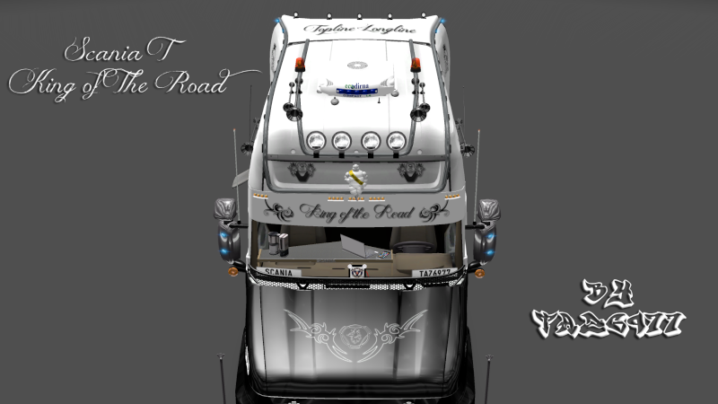 SKIN : Scania T Longline King of the Road Ets2_010