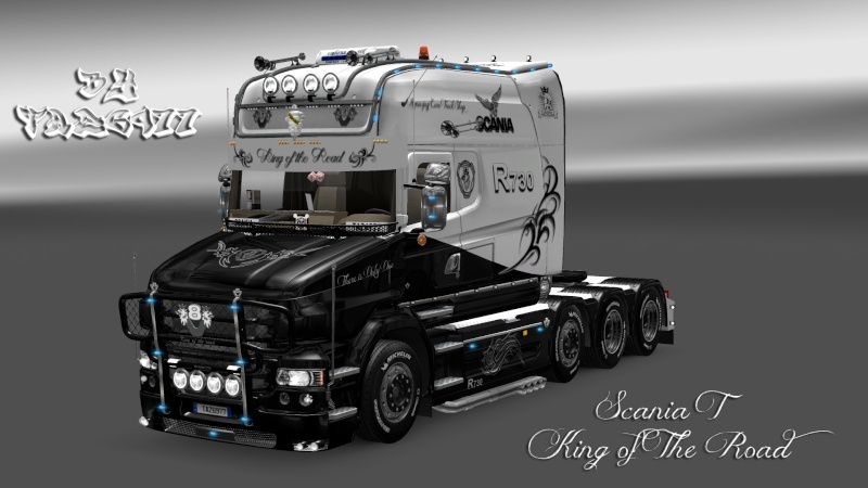 SKIN : Scania T Longline King of the Road Ets2_011