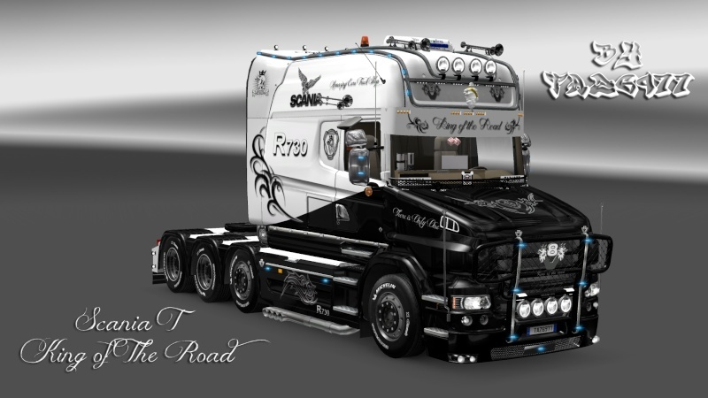SKIN : Scania T Longline King of the Road Ets2_013
