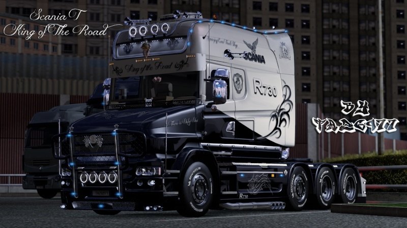 SKIN : Scania T Longline King of the Road Ets2_014