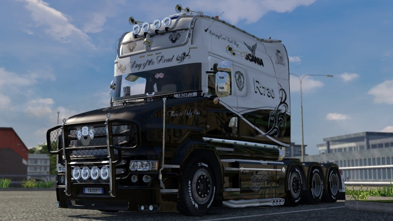 SKIN : Scania T Longline King of the Road Ets2_017