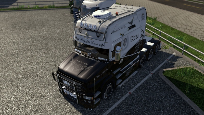 SKIN : Scania T Longline King of the Road Ets2_018