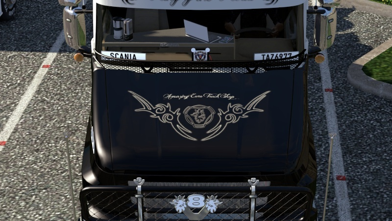 SKIN : Scania T Longline King of the Road Ets2_019
