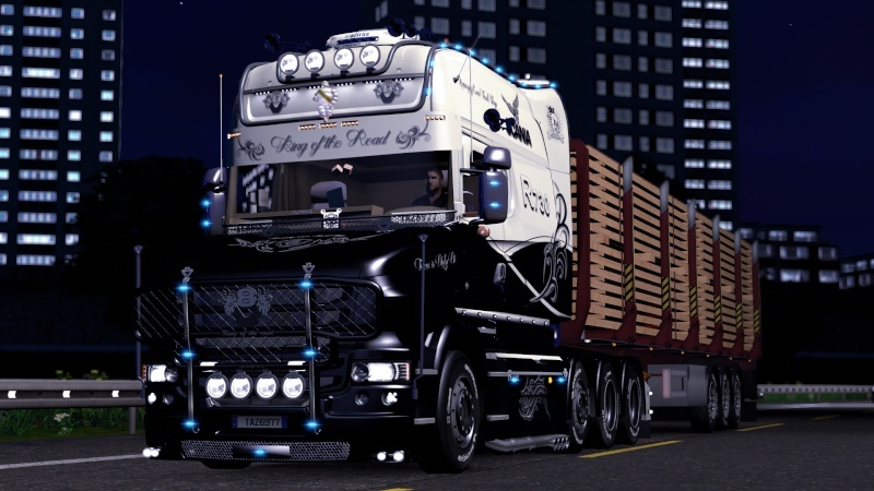 SKIN : Scania T Longline King of the Road Ets2_021