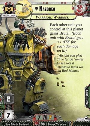 Les Orks et leur chef de guerre Nazdre10