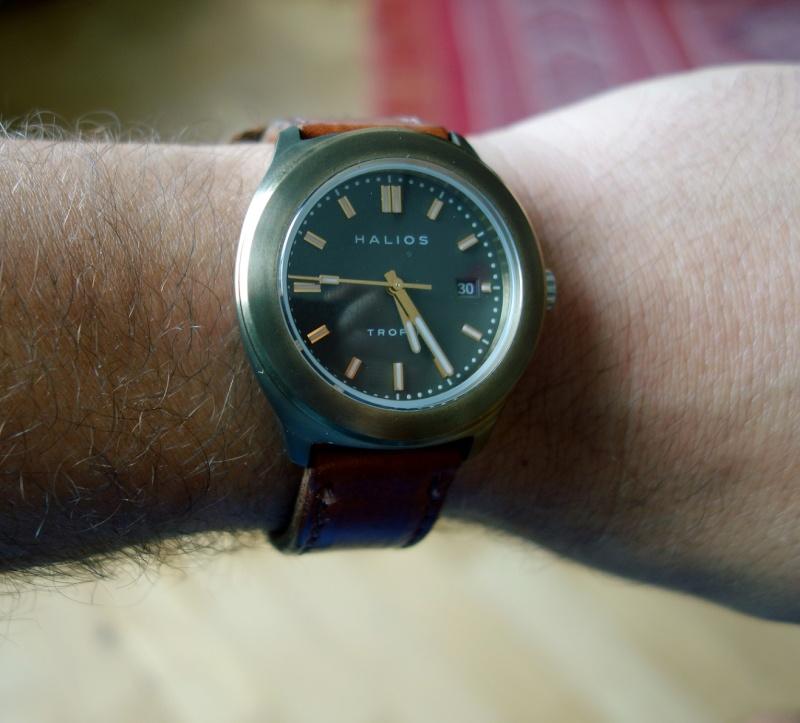 Pour Micro, une bronze et une squelette, décadence horlogère inside Halios10