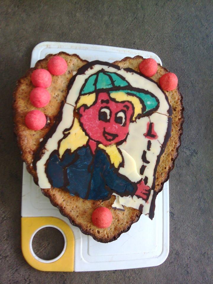 Gâteau petite fille 15109510