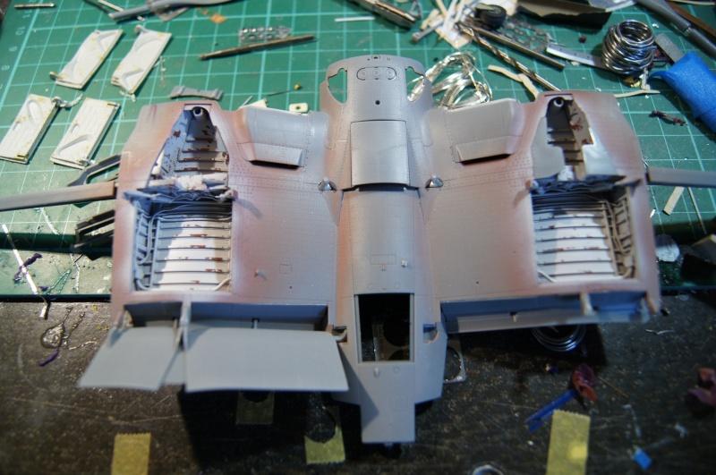 Pratt & Whitney R-2800, 1/32, ... Pour Corsair Tamiya. Resin Brassin + Barracuda ...+ scratch et métal usiné. - Page 4 Dsc04824