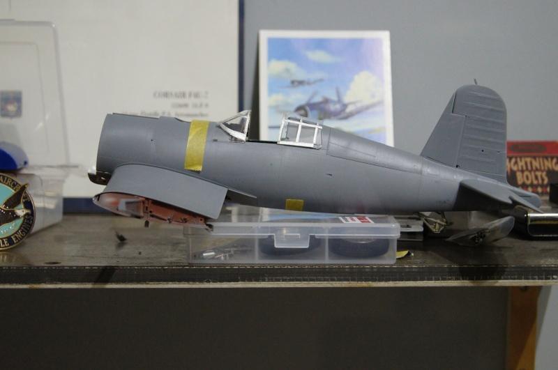 Pratt & Whitney R-2800, 1/32, ... Pour Corsair Tamiya. Resin Brassin + Barracuda ...+ scratch et métal usiné. - Page 4 Dsc04831